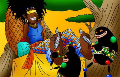 Promotional artwork - Jamala gets tickled again