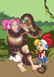 Request - Kaa hypnotizes Ulala und Billy Hatcher