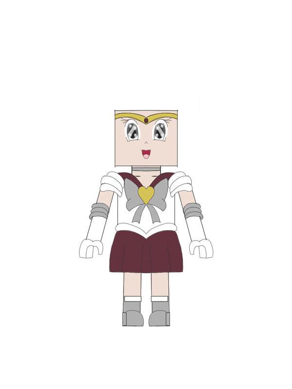 Lego Sailor Senshi Scout Base by Lexa70