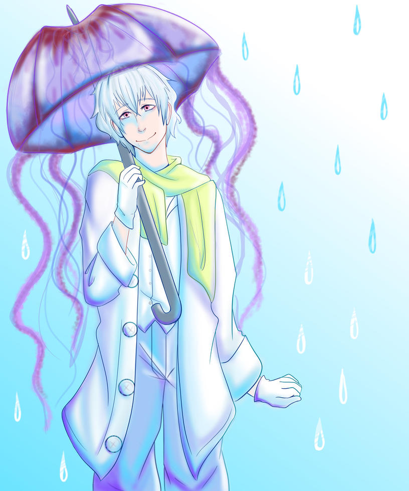 Umbrella - commission by FuzziePeach