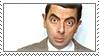 Mr Bean stamp by RainaAstaldo