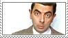 Mr Bean stamp by RainaAstaldo