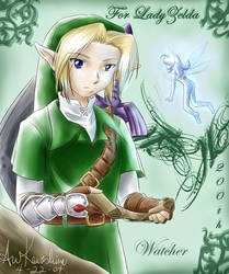 Link and Navi for LadyZelda