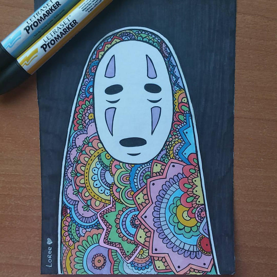 No Face from Spirited Away. by LoreeMercury