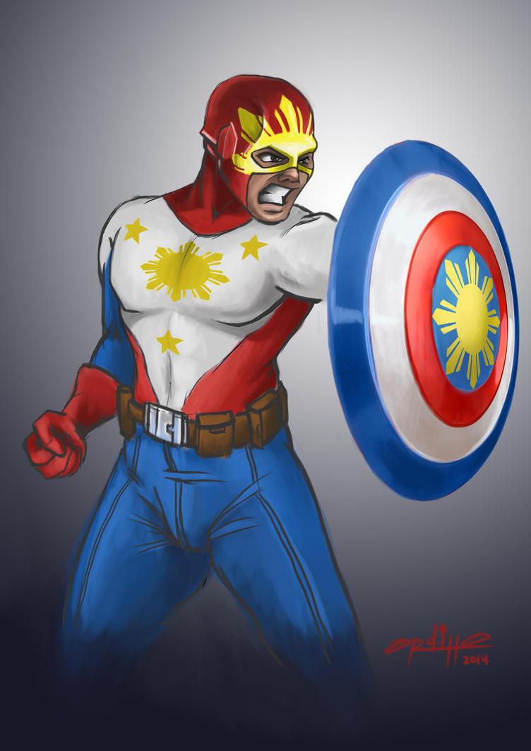 Captain...who? by ordilloart