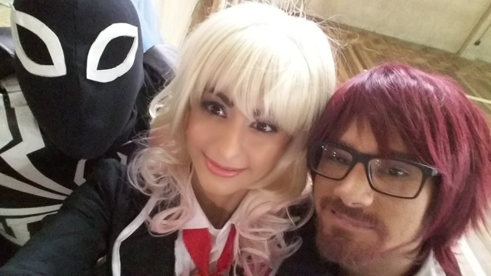 Cosplay Yui, Ayato e Venom by MissThayss