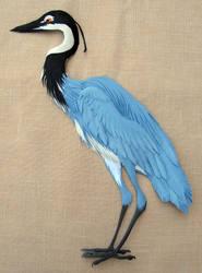Black-Headed Heron by Artdog53