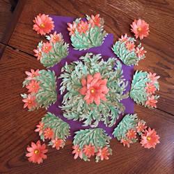 Work-in-Progress: Orange Gemflowers