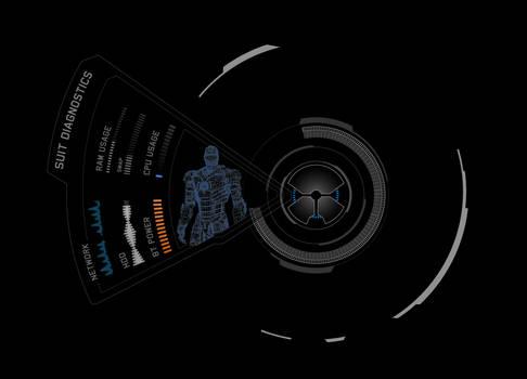 Iron Man Suit UI (Work In Progress) by Daelnz