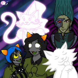 CATS by empressaurora