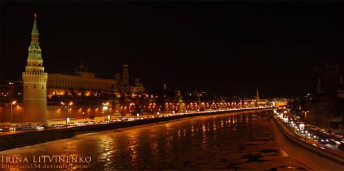 Night landscape by IRIS134