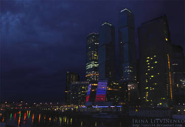 Moscow-City by IRIS134