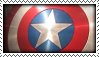 Captain America Shield Stamp