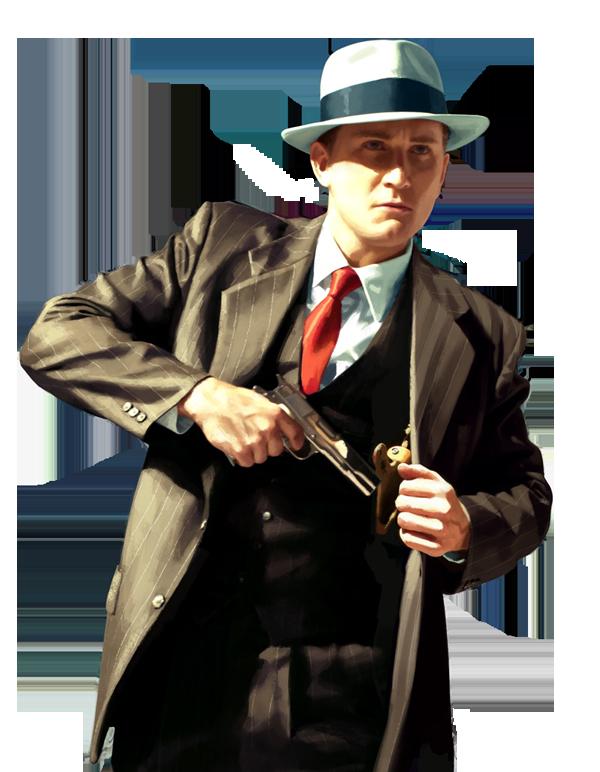 L.A. Noire cutout by SuperFlash1980