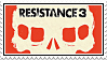 Resistance 3 Stamp by SuperFlash1980