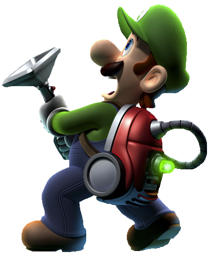 Luigi Render by SuperFlash1980