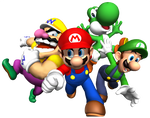 Mario And Friends Render by SuperFlash1980