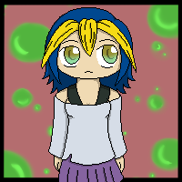 Yellow-Blue hair by Kiyan200