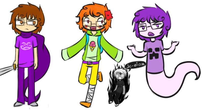 RTstuck Doodles - Michael by Kiyan200