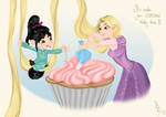 It's make-your-cupcake-pretty time!