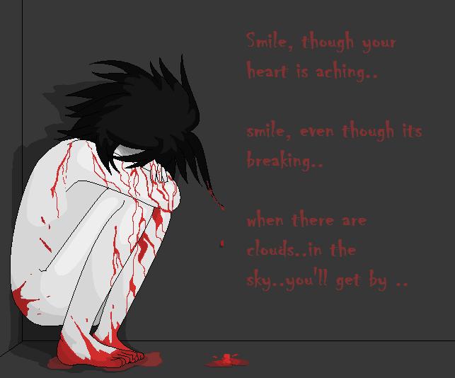 L Lawliet Smile