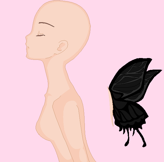 Butterfly Girl Base by eagle-eyes on DeviantArt