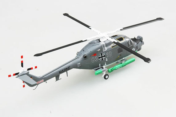 Easy Model MRC 1//72  LYNX MK 88 German Marine Built Up Helicopter Model 36928