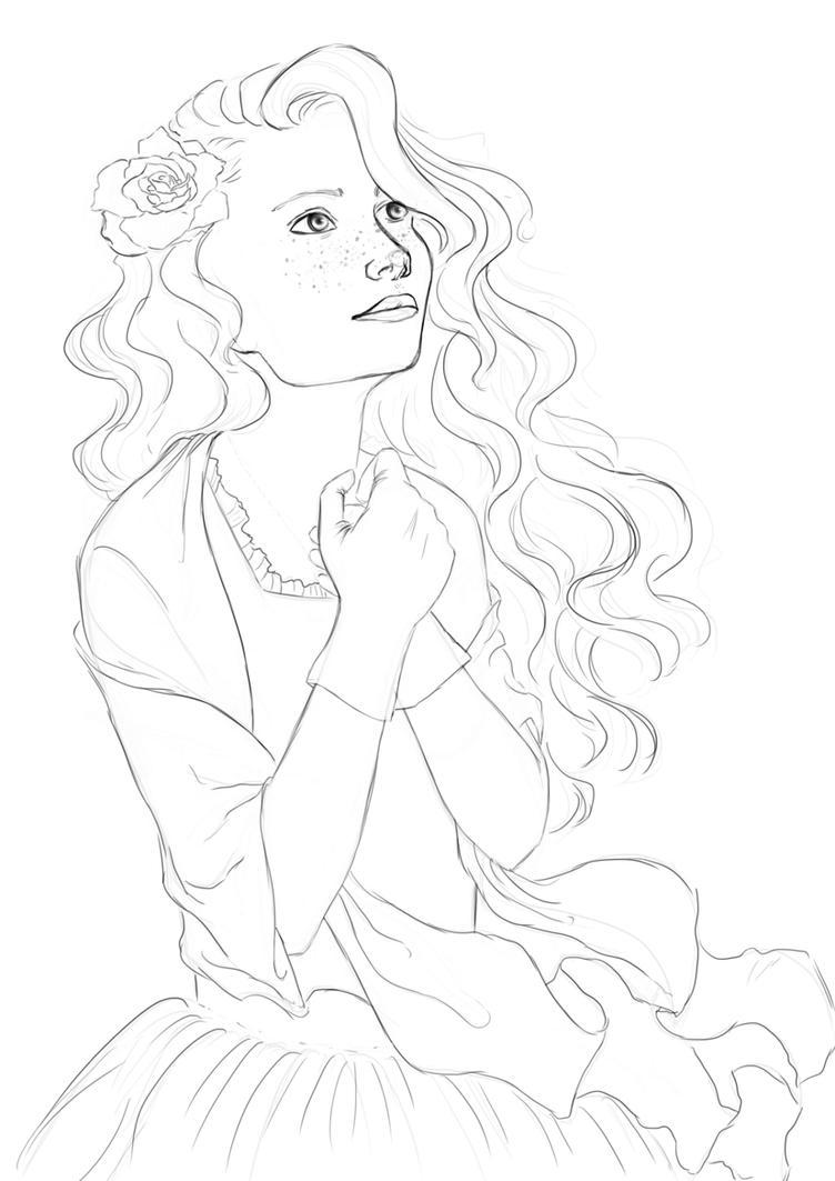 Sketch Study by melissyjane