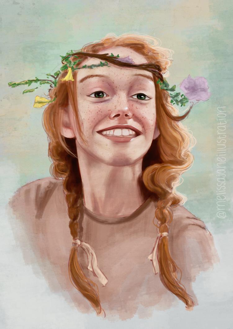 Fan Art - Anne by melissyjane