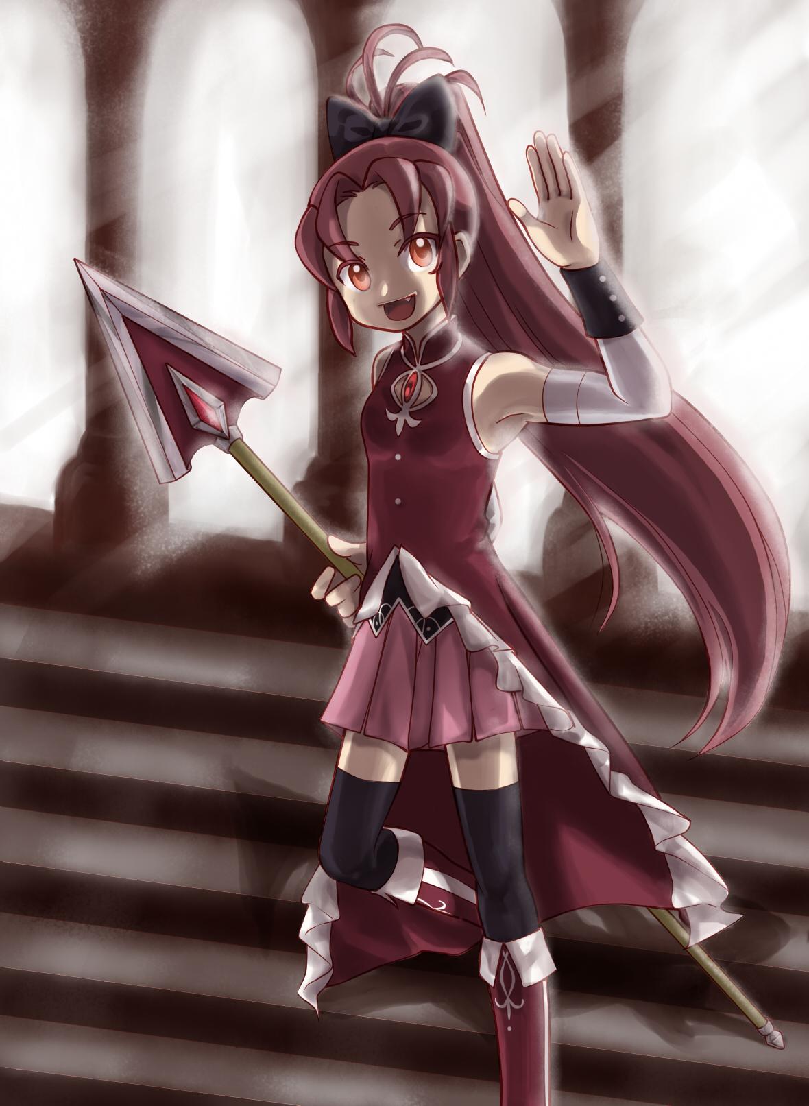 Kyouko Sakura by BlakkaStar