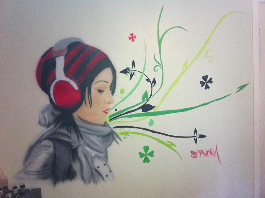 Wall Mural by Seaph-Dark