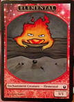 Calcifer Elemental Token Alter (Another one! XD) by Ashesela