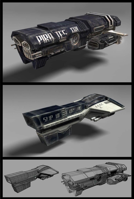 pirates spaceship by Kotartem