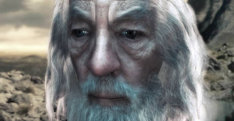 Gandalf WIP by Rezaforum