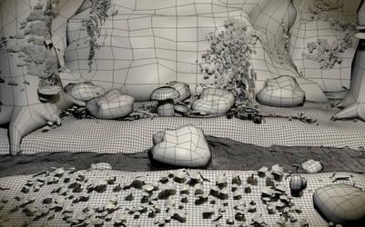 Mushrooms Wire by Rezaforum