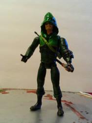 ARROW TV series custom action figure by wonderjay