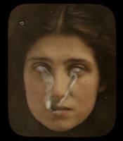 Vintage Photo with Ectoplasm 3