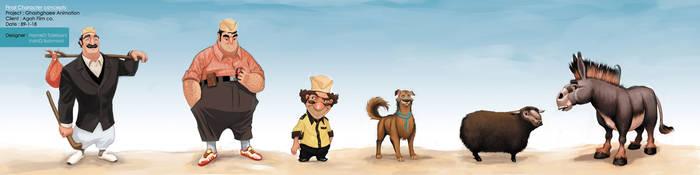 Ghashghaee characterS by hamex