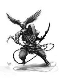 Arab Warrior Cocept2 by hamex