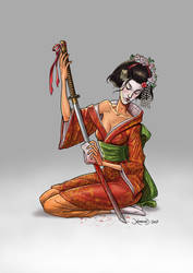 Killer Geisha by hamex