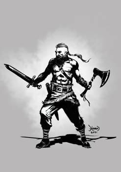 Viking Warrior 2021 BW