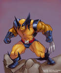 Coloring-Wolverine