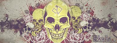 Skulls by bente20