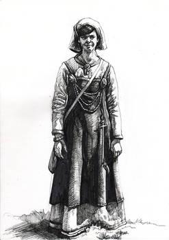Moar Viking attire (Inktober)