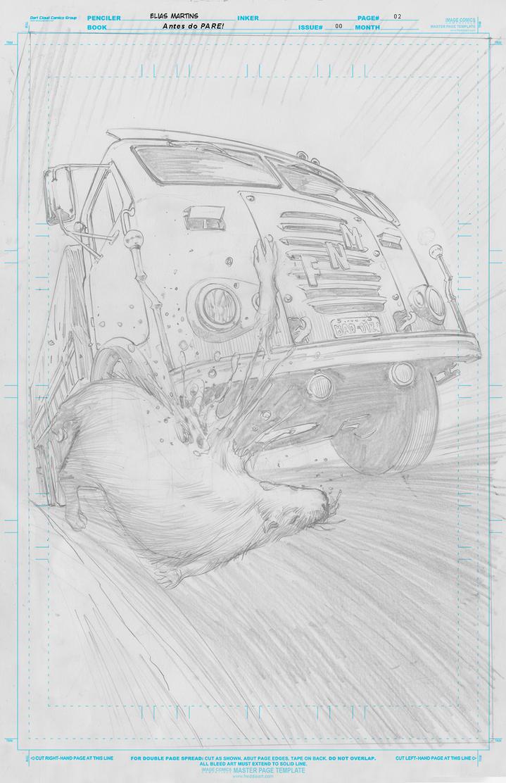 Pare! Page02 Pencils Elias Martins Low  by eliasmartins