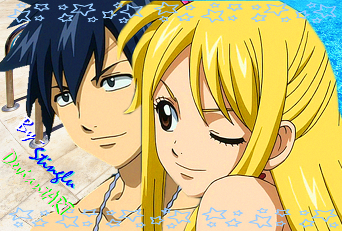 Fairy Tail Gray And Lucy Kiss Fanfiction – Desenhos Para Colorir