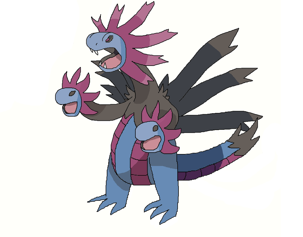 Mega Hydreigon by Harrysoap on DeviantArt