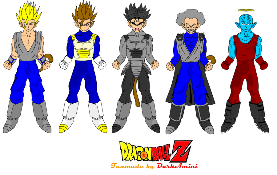 Dragon Ball Z Fanmade Characters By DarkAmini by oAmini on