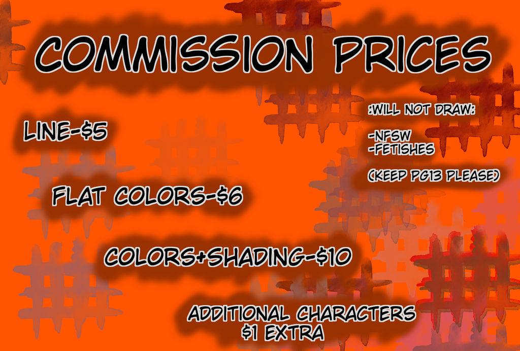 Commissions Chart