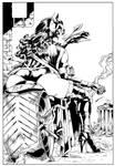 Huntress - M.Abreu - Inked by me. by JDB-Inks